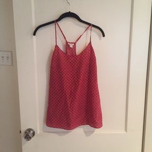 J. Crew Patterned Silky Cami